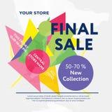 Final sale Royalty Free Stock Photo