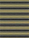 Final. Special textile pattern for different uses in black and golden tones, very interesting design for all uses Royalty Free Stock Photography
