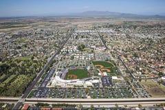 Hohokam Park. Final Spring Training Season for the Chicago Cubs at Hohokam Park, in Mesa, Arizona stock images