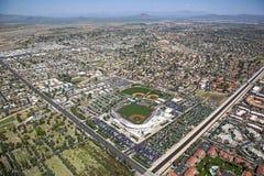 Hohokam Park. Final Spring Training Season for the Chicago Cubs at Hohokam Park, in Mesa, Arizona royalty free stock image