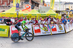 Final stage of Tour de Pologne in Krakow Stock Images
