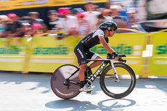 Final stage of Tour de Pologne in Krakow Royalty Free Stock Images