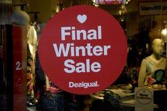 FINAL WINTER SALE Stock Photos