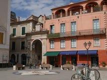 Finalborgo - Garibaldi Square royalty-vrije stock foto