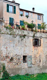 Finalborgo, italy Stock Photography
