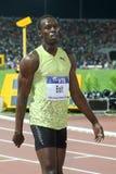 Finale 2009 d'athlétisme du monde du Mens 100m de boulon d'Usain Images stock