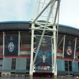 Finale 2017 de ligue de champions d'UEFA image stock