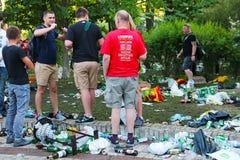 Finale de ligue de champions d'UEFA dans Kyiv, Ukraine Photographie stock
