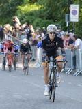 Finale di Izumi Tour Series Bicycle Race della perla nel bagno Inghilterra Fotografia Stock Libera da Diritti