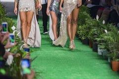 Finale einer Modeschau Stockbild