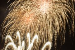 Finale Firework. royalty free stock photos