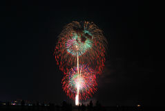 Finale Firework Royalty Free Stock Photo