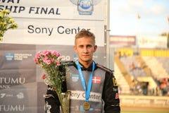 Finale individuelle européenne de championnat du speed-way U21 Photos stock