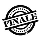 Finale rubber stamp. Grunge design with dust scratches. Effects can be easily removed for a clean, crisp look. Color is easily changed Stock Photography