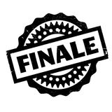 Finale rubber stamp. Grunge design with dust scratches. Effects can be easily removed for a clean, crisp look. Color is easily changed Stock Photos