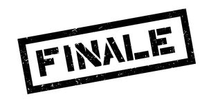 Finale rubber stamp. On white. Print, impress overprint Royalty Free Stock Image