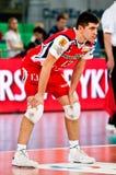 Finales de la Coupe polonais de volleyball Images stock
