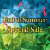Finales de la venta del verano Imágenes de archivo libres de regalías