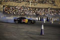 Finales de Moyen-Orient de chassoir de parking de Red Bull Images libres de droits