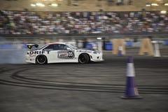 Finales de Moyen-Orient de chassoir de parking de Red Bull Photos stock