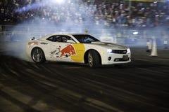 Finales de Moyen-Orient de chassoir de parking de Red Bull Photographie stock
