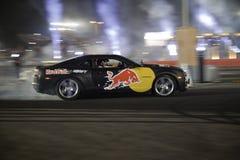 Finales de Moyen-Orient de chassoir de parking de Red Bull Images stock