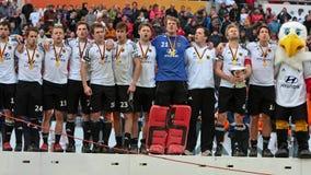 Finali degli uomini. Tazza europea Germania 2011 del hokey Fotografia Stock