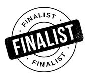 Finalist rubber stamp. Grunge design with dust scratches. Effects can be easily removed for a clean, crisp look. Color is easily changed Royalty Free Stock Photo