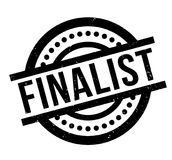 Finalist rubber stamp. Grunge design with dust scratches. Effects can be easily removed for a clean, crisp look. Color is easily changed Stock Photography