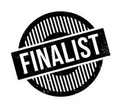Finalist rubber stamp. Grunge design with dust scratches. Effects can be easily removed for a clean, crisp look. Color is easily changed Royalty Free Stock Image