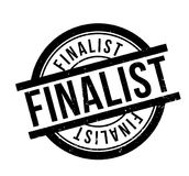 Finalist rubber stamp. Grunge design with dust scratches. Effects can be easily removed for a clean, crisp look. Color is easily changed Stock Image