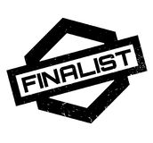 Finalist rubber stamp. Grunge design with dust scratches. Effects can be easily removed for a clean, crisp look. Color is easily changed Royalty Free Stock Photography
