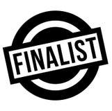 Finalist stamp typ. Finalist stamp. Typographic label, stamp or logo Stock Photo