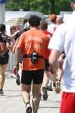 Finalista del maratón Imagen de archivo libre de regalías