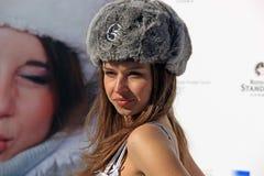 Finalistas 2008 da senhorita Rússia em St. Moritz Imagem de Stock
