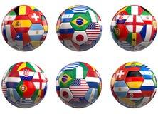 Finalisti 2014 di calcio del mondo Immagini Stock
