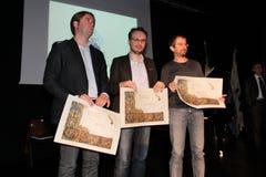 Finalists 30° ποίηση Tirinnanzi Legnano Ιταλία Στοκ εικόνες με δικαίωμα ελεύθερης χρήσης