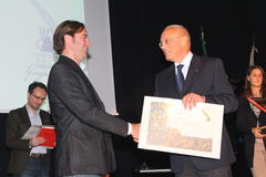 Finalists 30° poetry Tirinnanzi Legnano Italy Stock Image