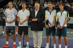 The Finalists of the Moselle Open 2015 Stock Image