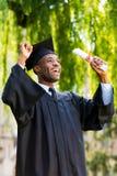 Finally graduated! Stock Photo