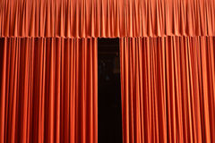 Finally a huge fan theatrical work Royalty Free Stock Photo