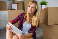 Finally. I have my own apartment. Royalty Free Stock Image