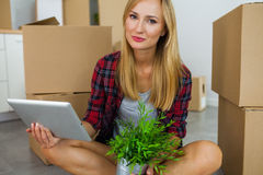 Finally. I have my own apartment. Royalty Free Stock Photo