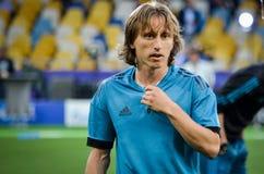 Finalmatch 2018 för liga för UEFA-mästare fotografering för bildbyråer