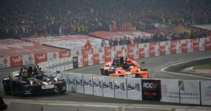 finalrace för 2009 mästare Royaltyfria Bilder