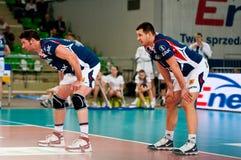 Finals de la Copa polacos del voleibol imagen de archivo libre de regalías