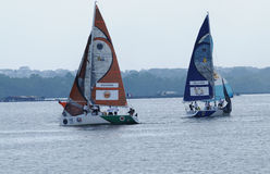 Finals of Monsoon Cup Malaysia 2014/2015 Stock Photos