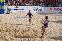 Free Finals Of European Footvolley Championship Game Stock Images - 95293504