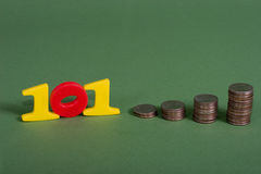 Finança 101 Fotografia de Stock