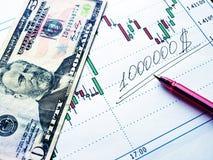 Finança Foto de Stock
